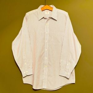 Brooks Brothers 346 button down shirt 16-2/3